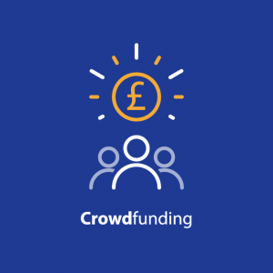 Graphic representing Crowd Funding
