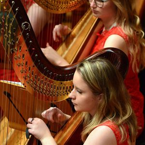 NYHO-Young-harp-players-in-concert